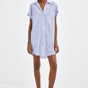 Zara long shirt with pockets